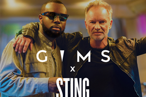 Maitre Gims - Reste with Sting
