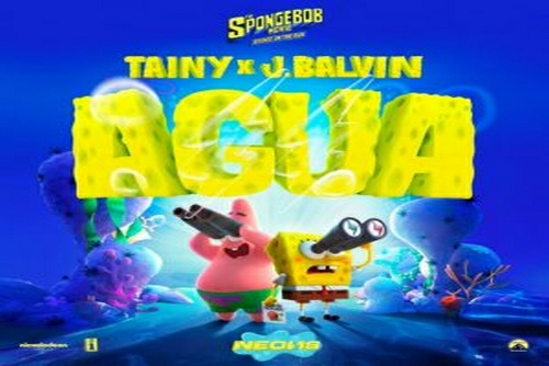 Tainy and J Balvin - Agua (Music From &qout;Sponge On The Run&qout; Movie)