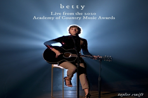 Taylor Swift - betty (Live from the 2020 Academy of Country Music Awards)