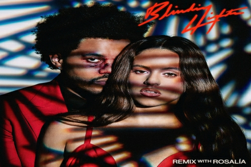 The Weeknd and Rosalía - Blinding Lights (Remix)