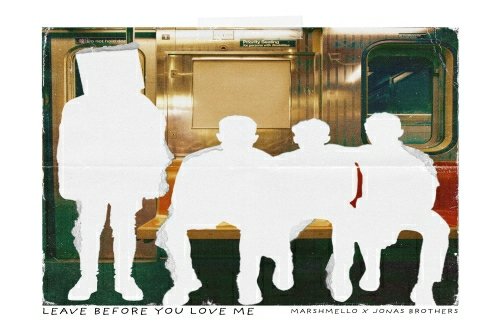 Marshmello &Jonas Brothers - Leave Before You Love Me