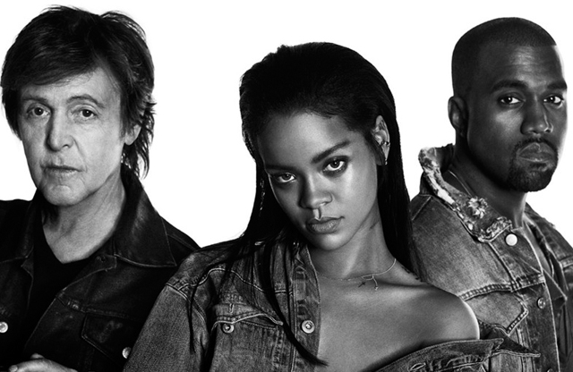Rihanna With Kanye West And Paul McCartney - Four Five Seconds