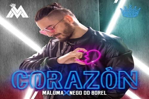 Maluma feat. Nego Do Borel - Corazón